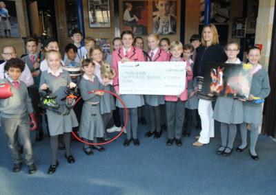 Brambletye raise £27,000 for Charity
