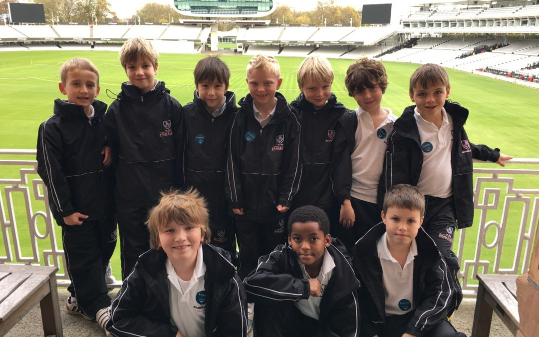 Lords trip for Year 4 Boys