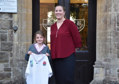 England Rugby Captain visit
