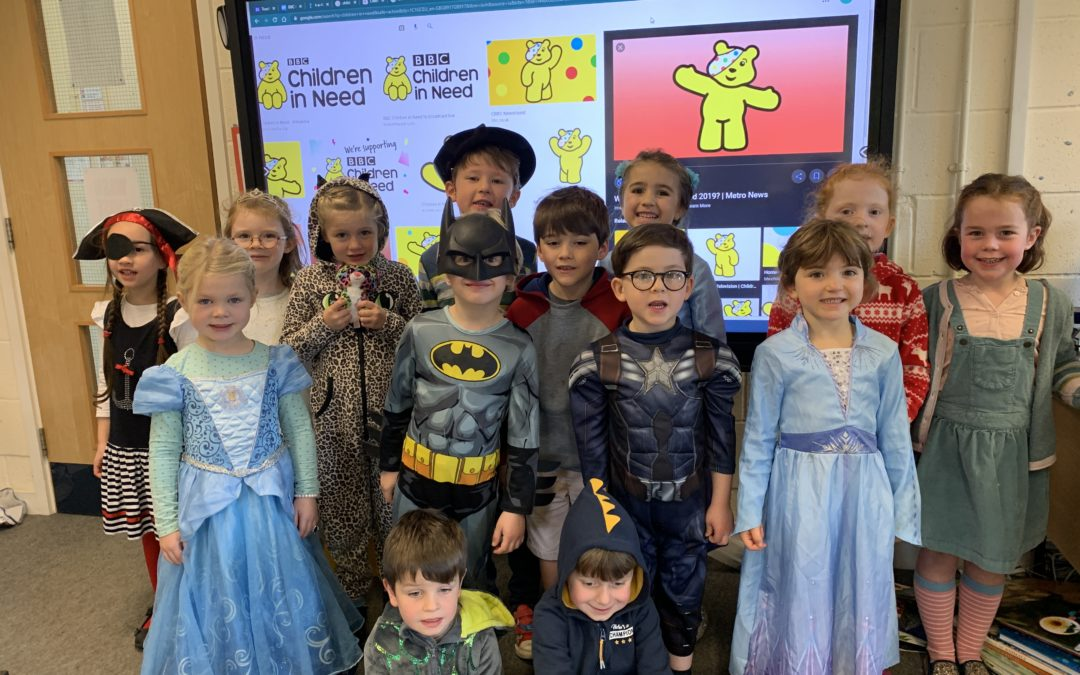 Pre-Prep Children in Need 'Dress Up Day'
